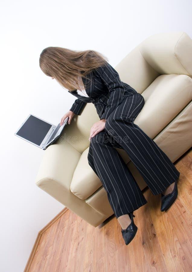 Download Femme d'affaires photo stock. Image du intelligent, caucasien - 2145928