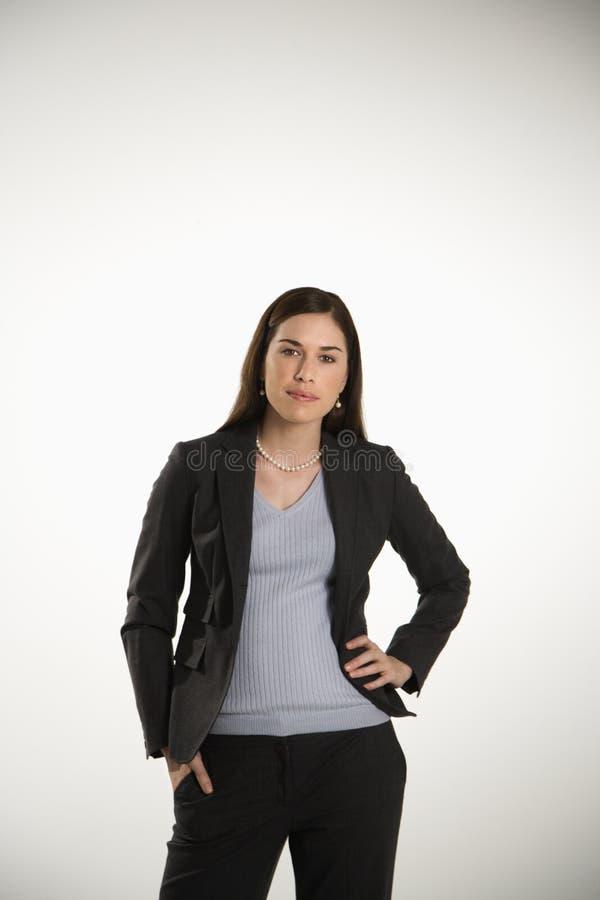 Femme d'affaires. image stock