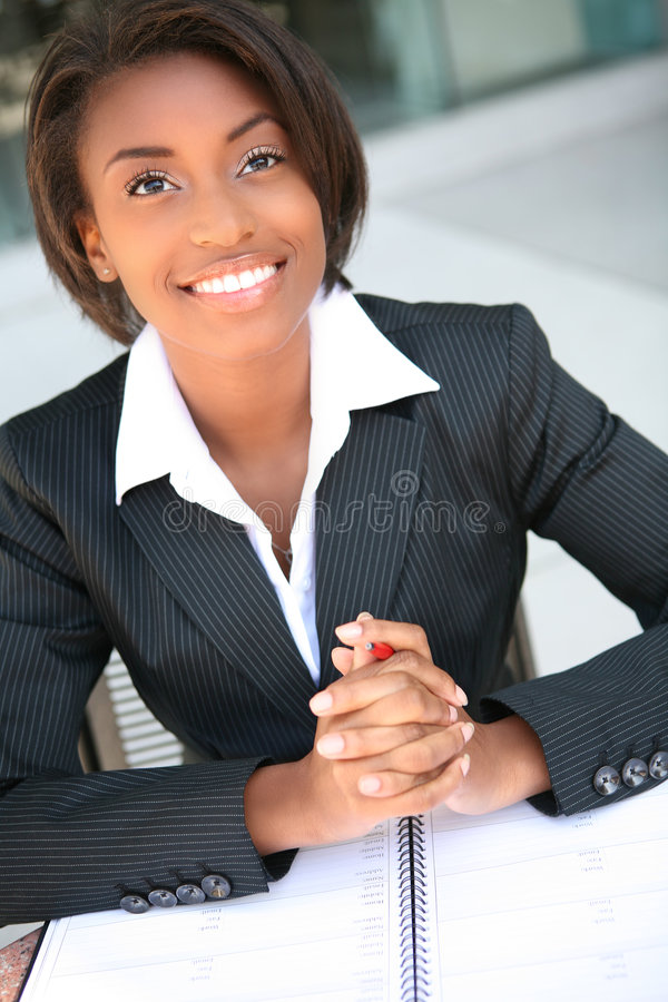 Femme d'affaires image libre de droits