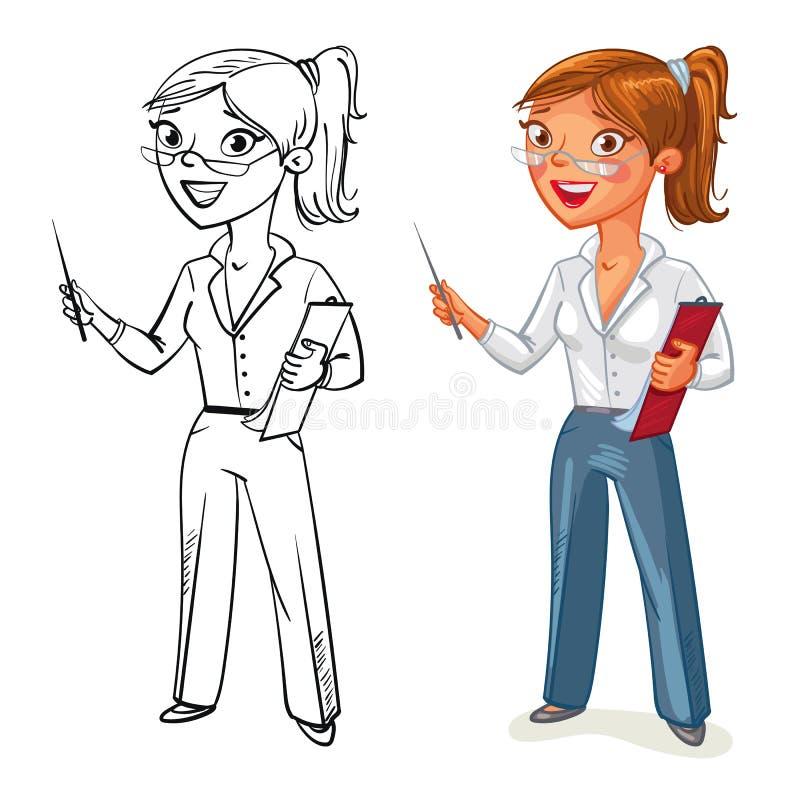 Femme d'affaires - 2 illustration stock