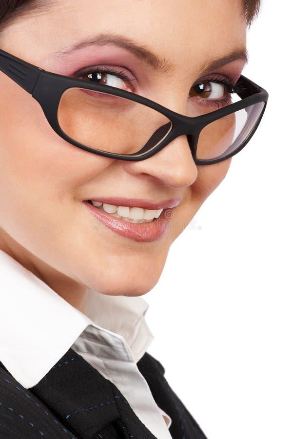 Download Femme d'affaires photo stock. Image du effectuez, heureux - 742634