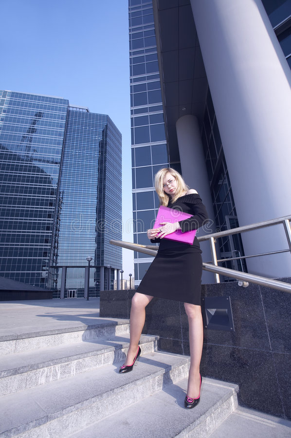 Download Femme d'affaires image stock. Image du femelle, bureau - 744987