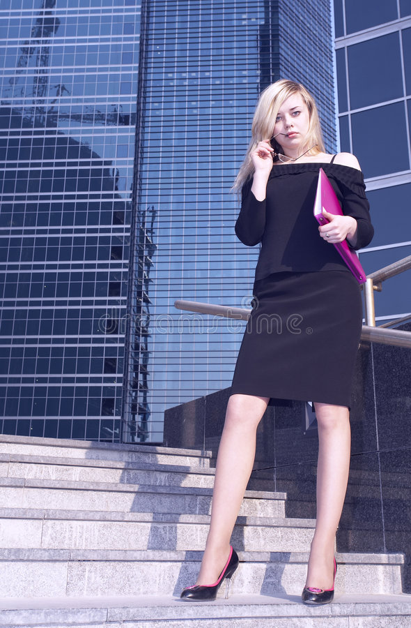 Download Femme d'affaires image stock. Image du professionnel, collègue - 745043