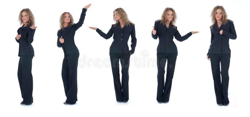 Femme d'affaires photo stock