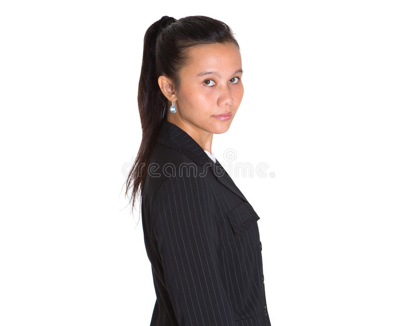 Femme d'affaires asiatique Portraiture III photo libre de droits
