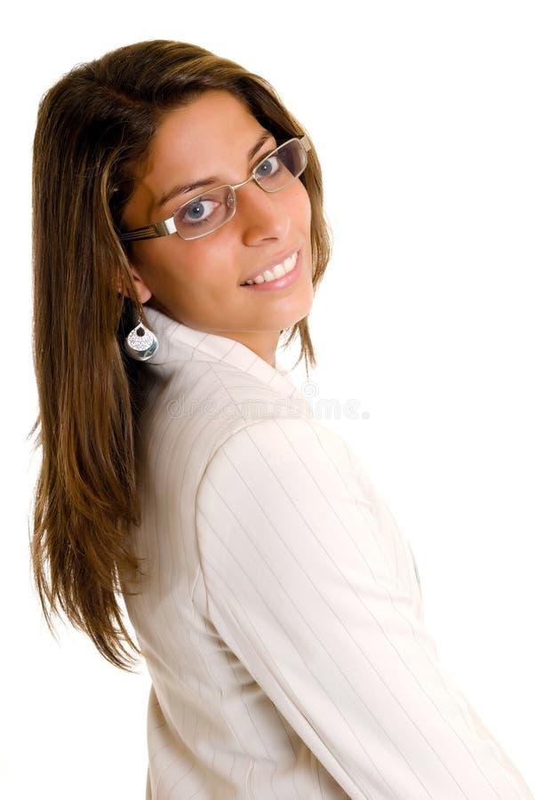 Femme d'affaires attirante image libre de droits