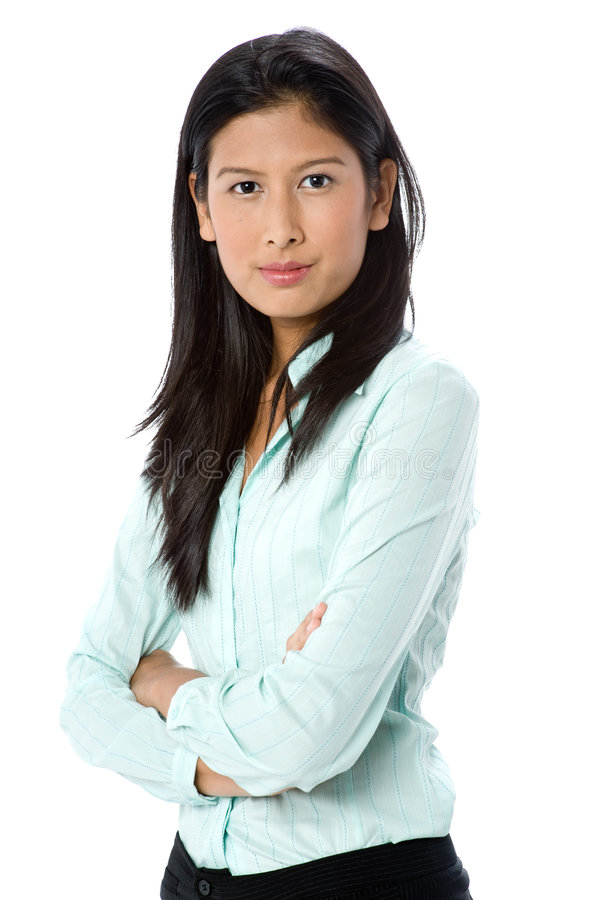Femme d'affaires attirante photos stock