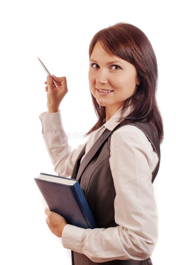 Femme d'affaires avec l'agenda, expositions photo libre de droits