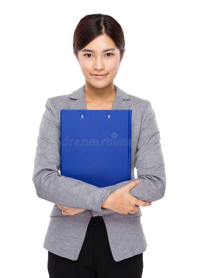 Download Femme D'affaires Avec La Planchette Image stock - Image du affaires, liste: 45365505