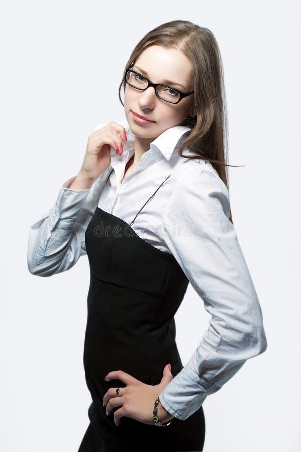 Femme d'affaires caucasienne photographie stock libre de droits