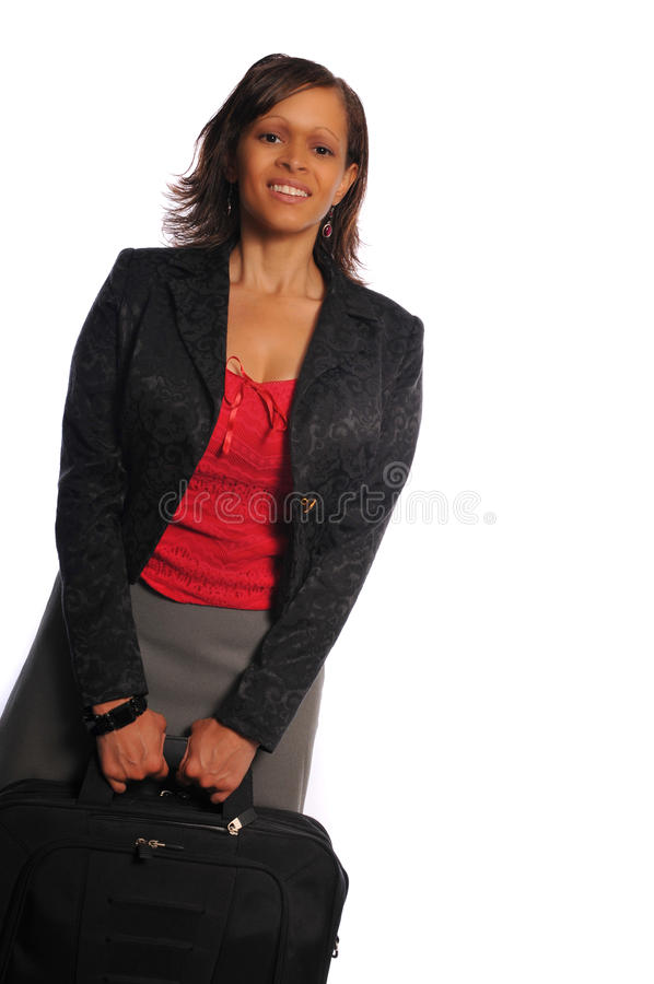Femme d'affaires d'African-american photo stock