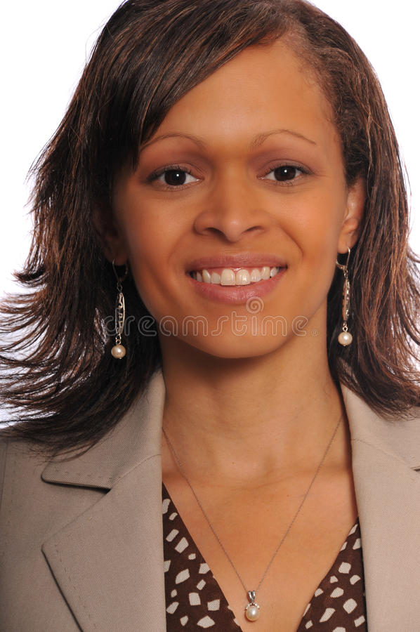 Femme d'affaires d'African-american images stock