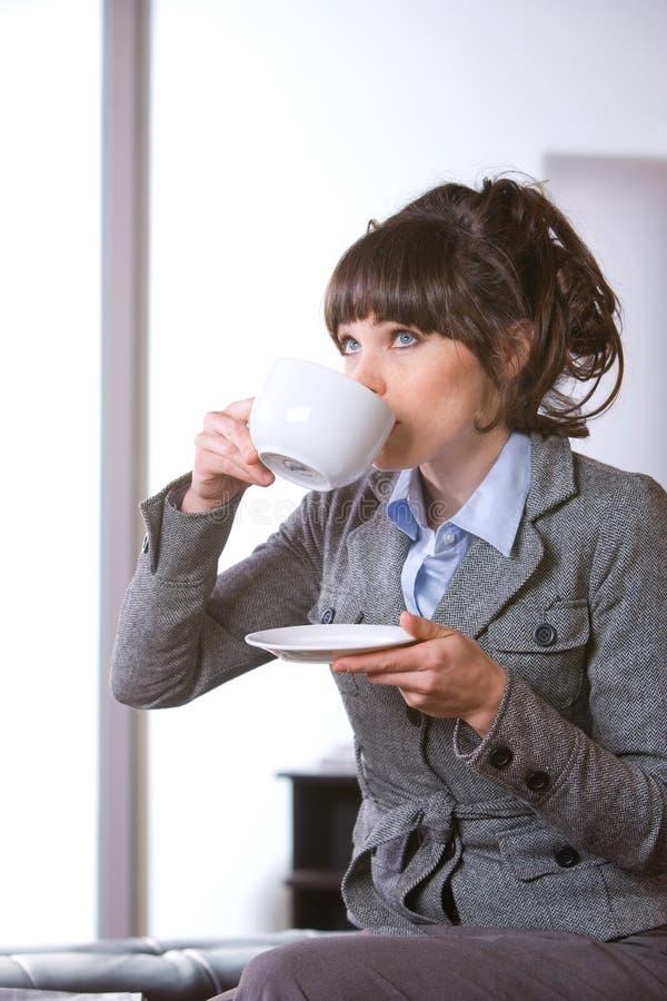 Download Femme D'affaires Dans Le Bureau Moderne Photo stock - Image du lifestyle, contemporain: 8653424