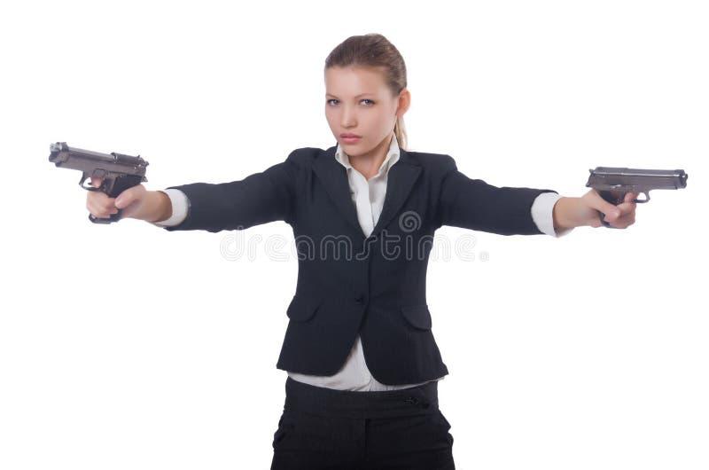 Femme d'affaires de femme images libres de droits
