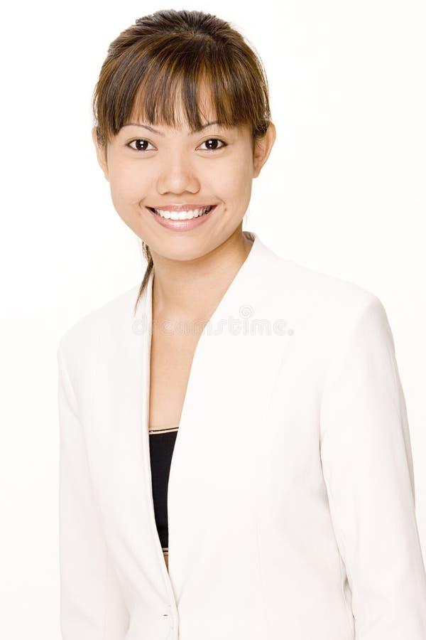 Femme d'affaires de sourire 2 images libres de droits