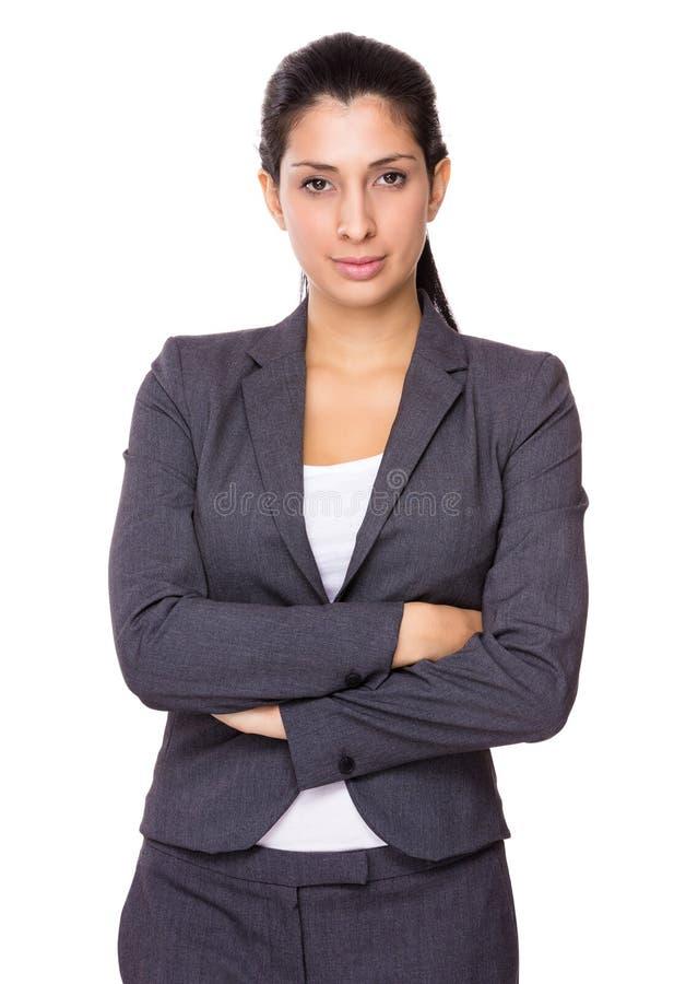Femme d'affaires indienne photos stock