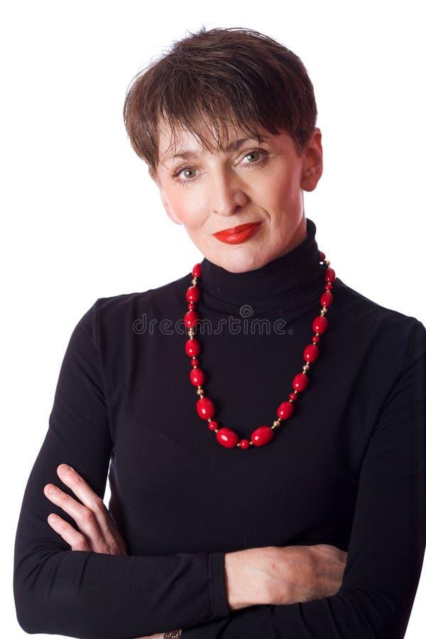 Femme d'affaires mûres photographie stock