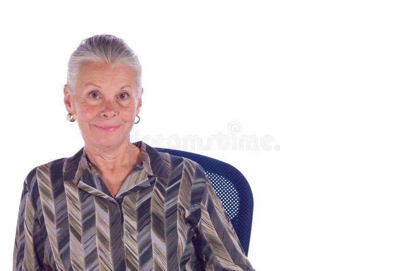 Femme d'affaires mûres image stock
