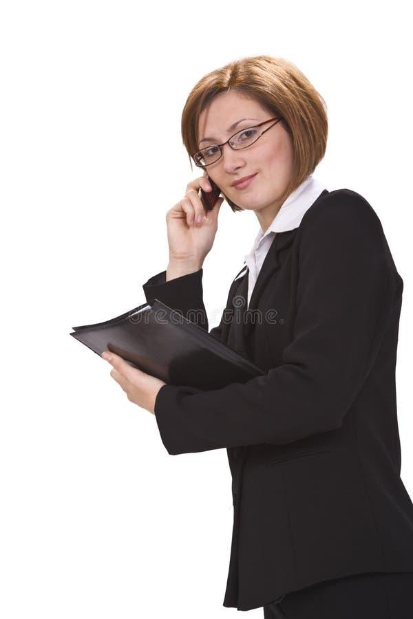 Femme d affaires occupée