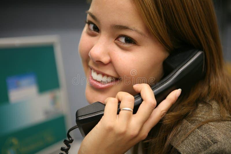 Femme d'affaires (orientation sur l'oeil) photos libres de droits