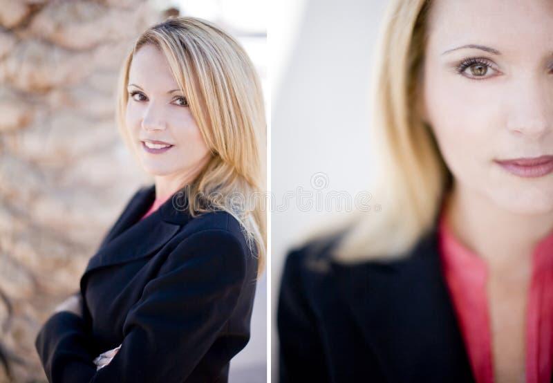 Femme d'affaires professionnelle photo stock