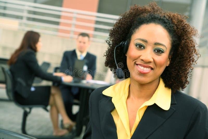 Femme d'affaires réussie image libre de droits