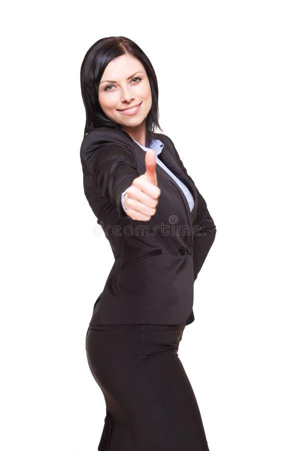 Femme d'affaires réussie. images stock