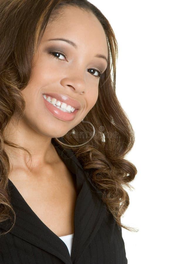 Femme d'Afro-américain photographie stock