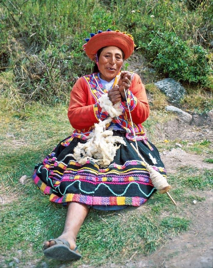 Femme d'Amerindian photographie stock libre de droits
