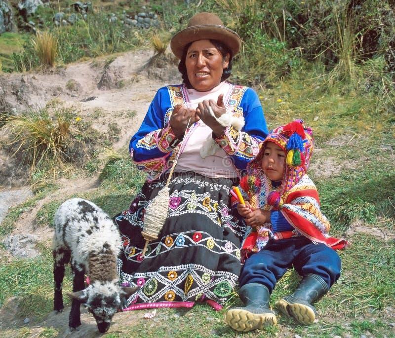 Femme d'Amerindian photo stock