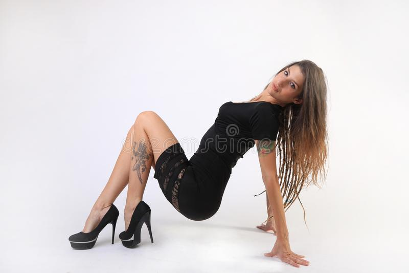 Femme d'entreprise moderne grande photos stock