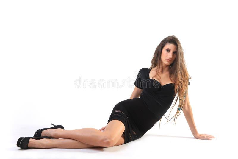 Femme d'entreprise moderne grande photographie stock libre de droits