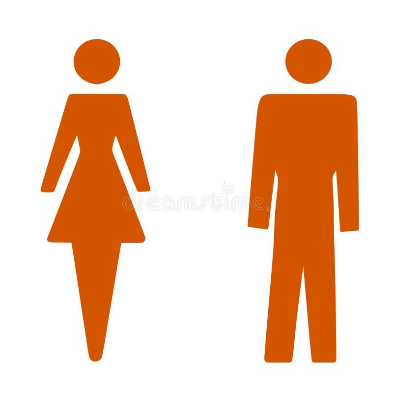 Femme d'homme illustration libre de droits