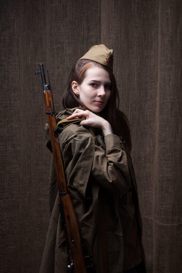 Politique russe femme soldat