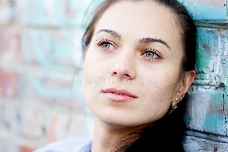 Femme dans la dépression image libre de droits