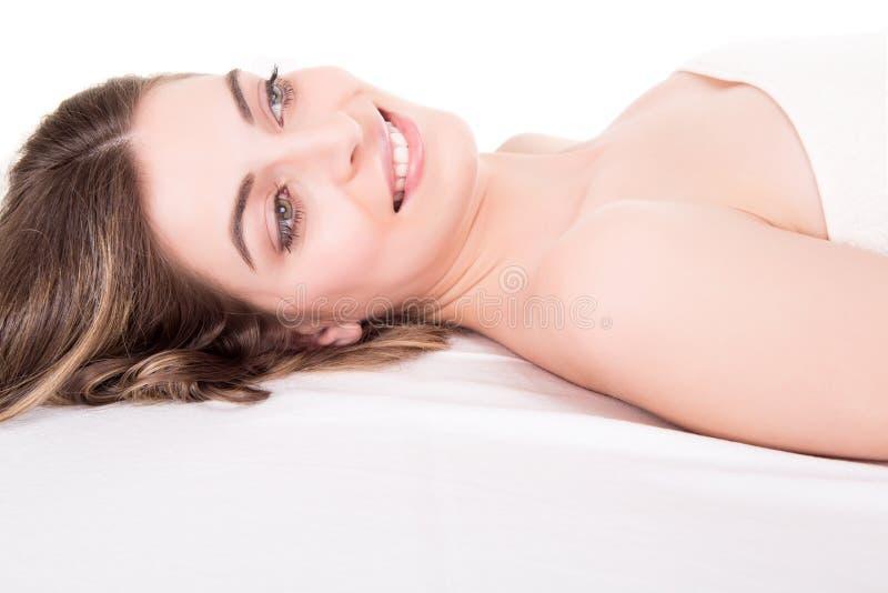 Download Femme Dans La Station Thermale Image stock - Image du massage, bien: 45362173