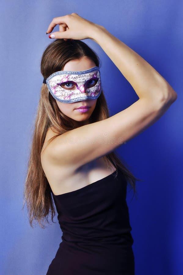 Femme dans le masque 2 photos libres de droits