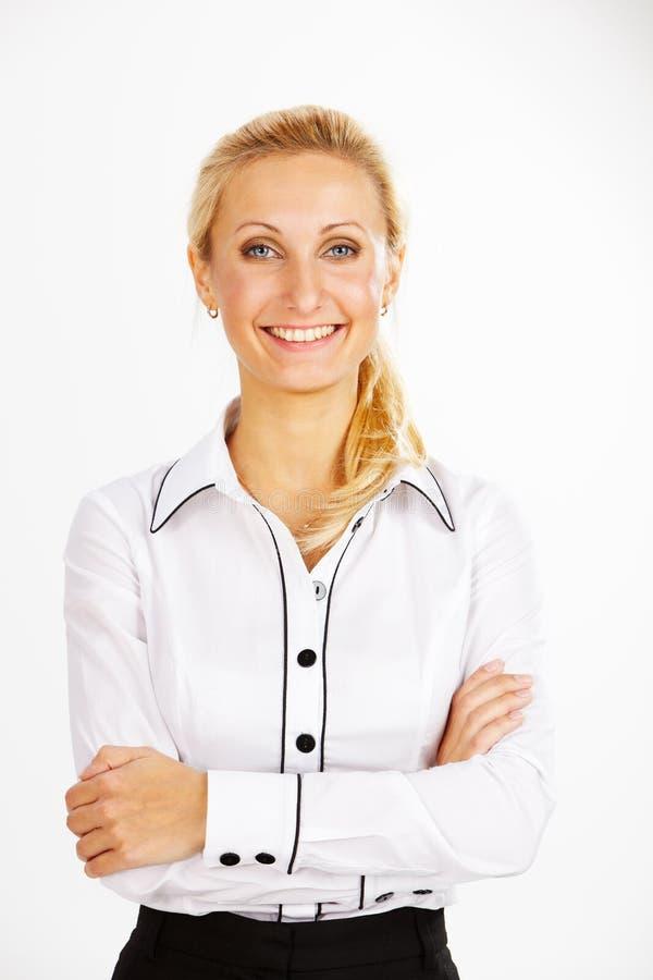 Femme dans les affaires images stock