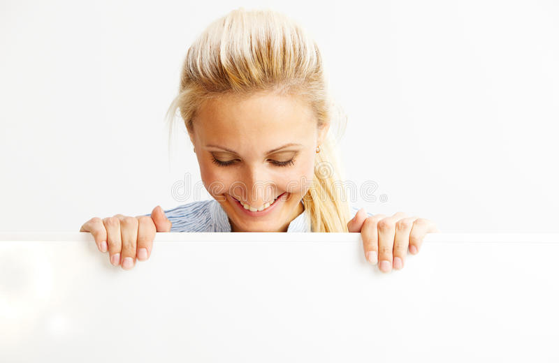 Femme dans les affaires image stock