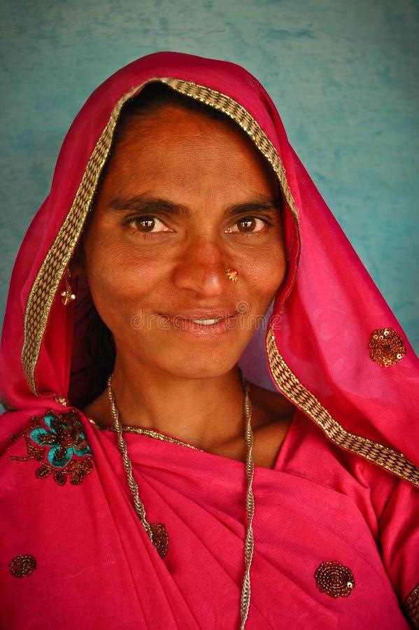 Femme de Bhili photos stock