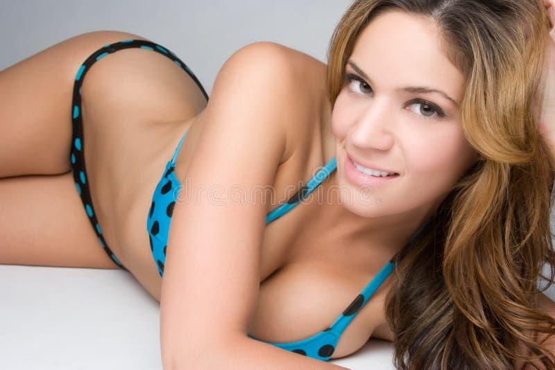Femme de bikini photos stock