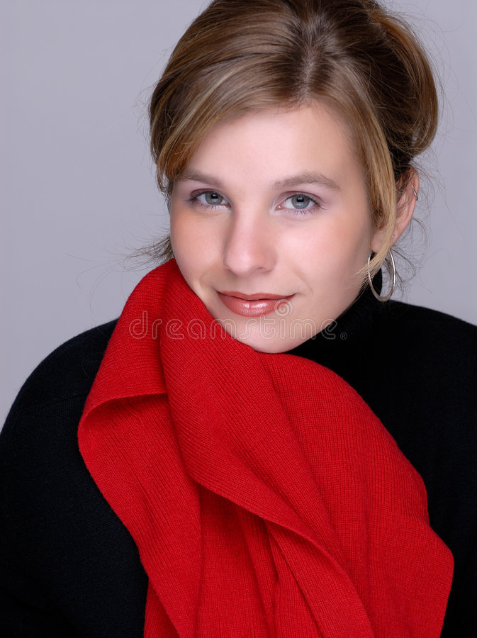 Femme de Brunette attirant photo libre de droits