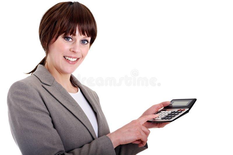 Femme de bureau images stock