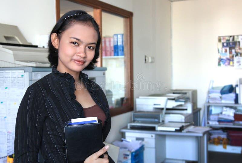Femme de carrière image libre de droits