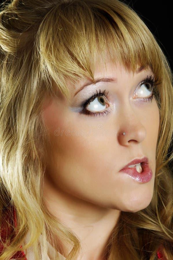Download Femme de charme photo stock. Image du humain, beau, rouge - 23239384
