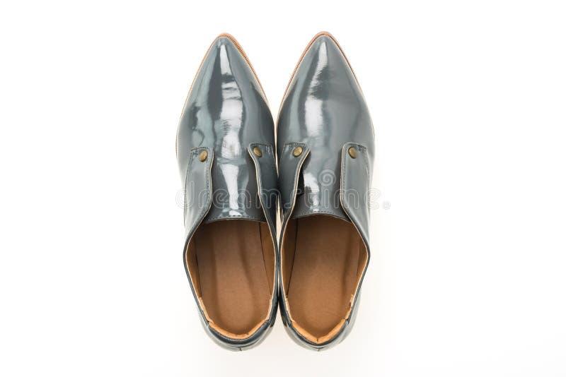 Download Femme De Chaussures En Cuir Photo stock - Image du beau, femelle: 87705744