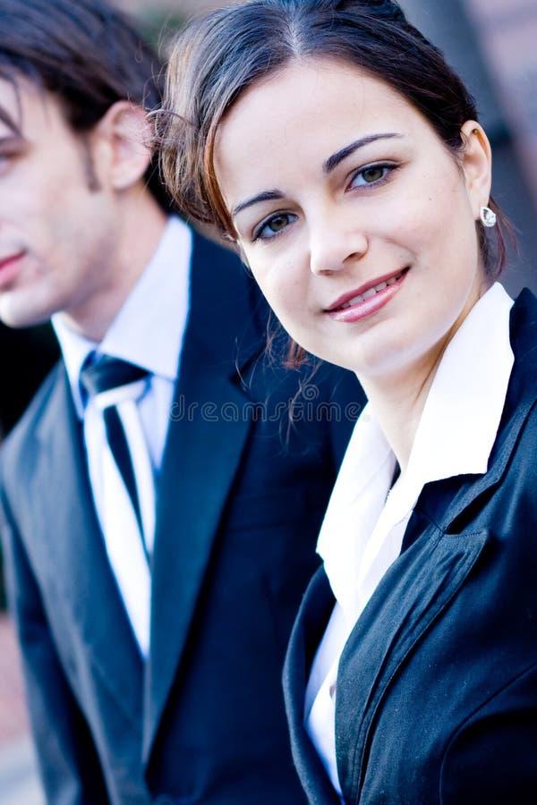 Femme de corporation image stock