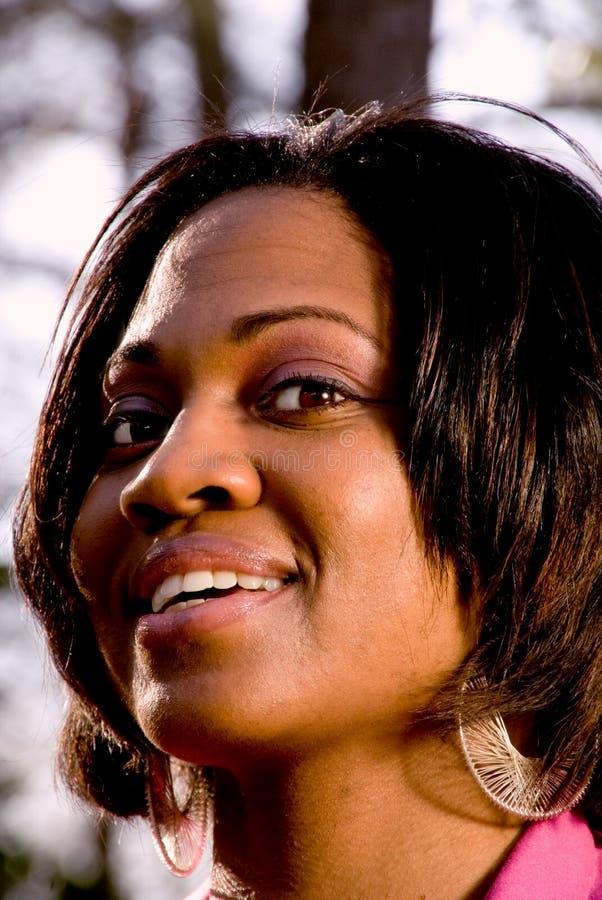 Femme de couleur photographie stock libre de droits