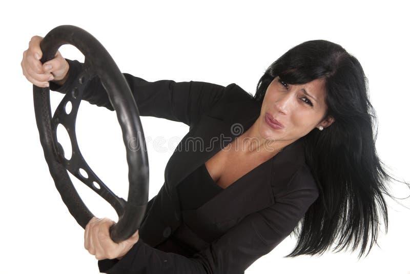 Femme de courbe photographie stock