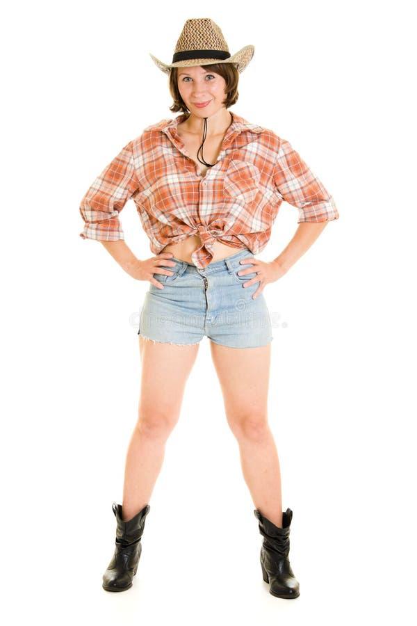 Femme de cowboy. photos libres de droits
